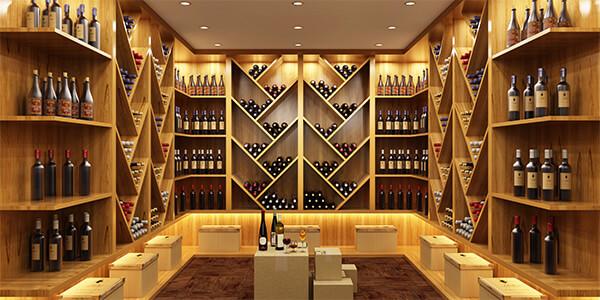 Weinkeller aufräumen