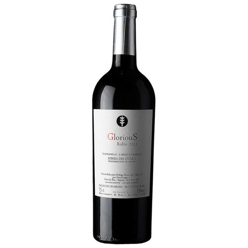 Glorious Roble 2013 0,75 l - Bodega Hermanos del Villar, S.L.